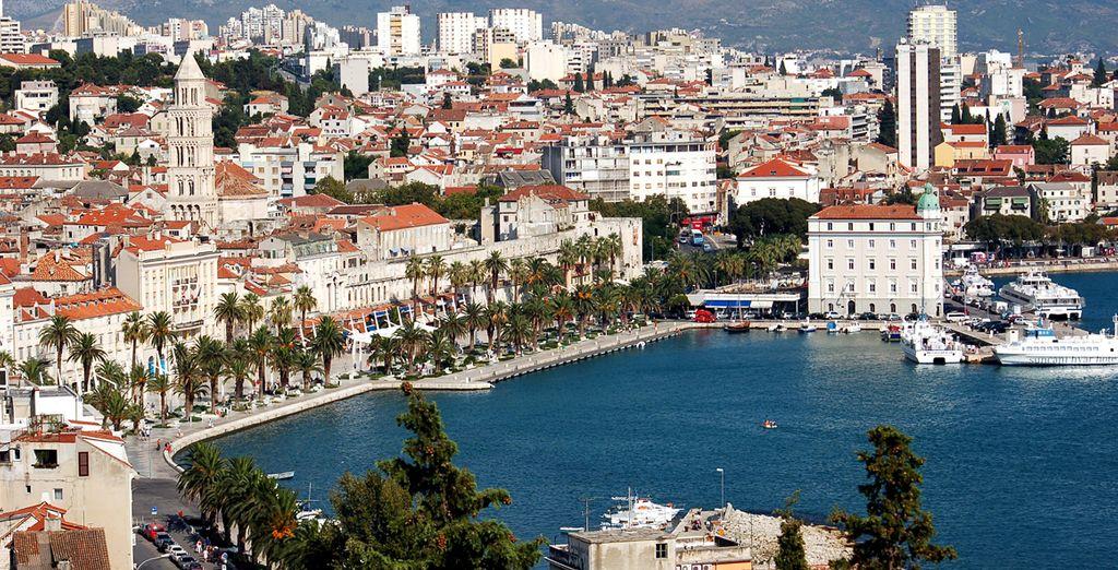 Ciudad romana de más de un milenio, Split