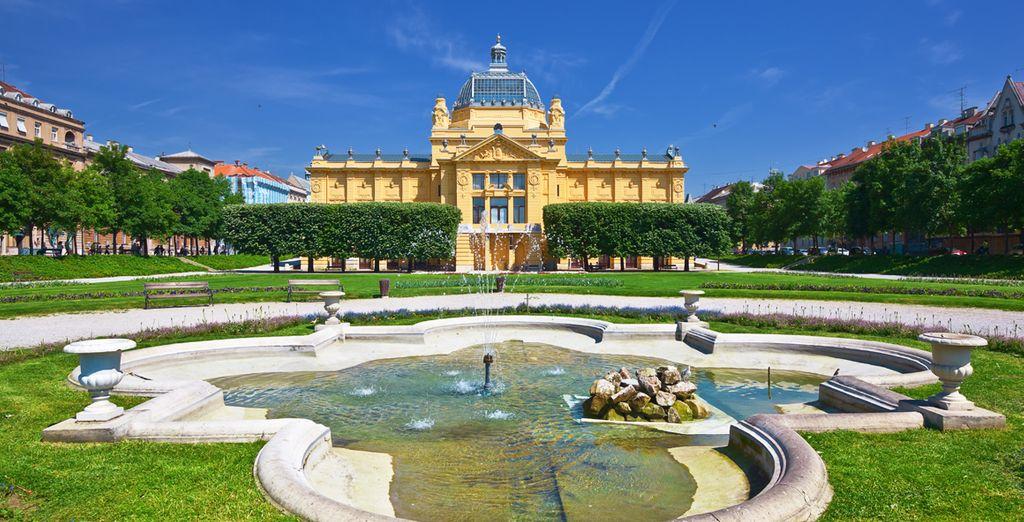 Lo viejo y lo nuevo, lo natural y lo urbano... en Zagreb