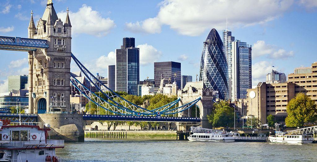 No se pierda el Puente de la Torre de Londres