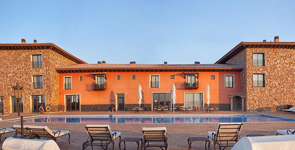 Un hotel con mucho encanto y tranquilidad