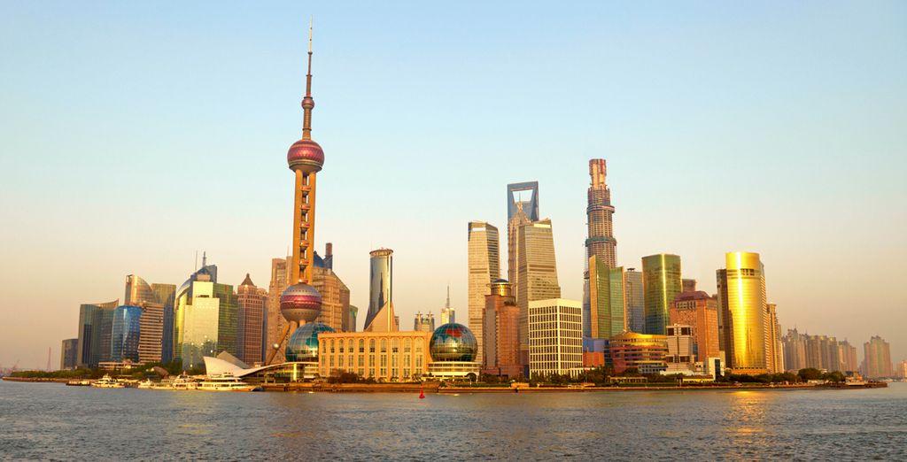 Conozca la espectacular ciudad de Shanghai
