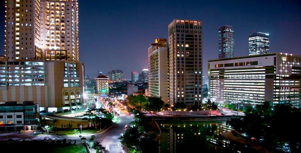 La cosmopolita capital, Jakarta