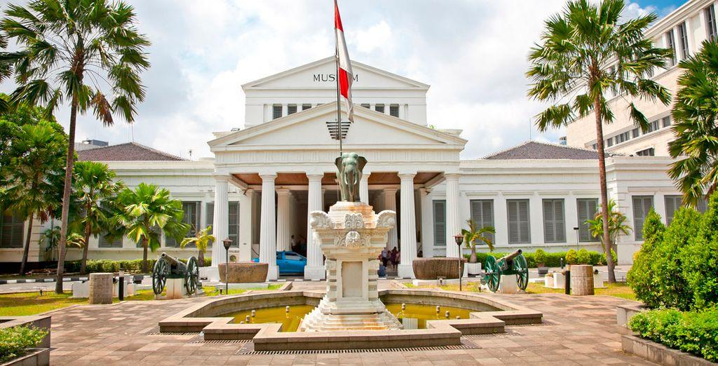 El Museo Nacional de Jakarta
