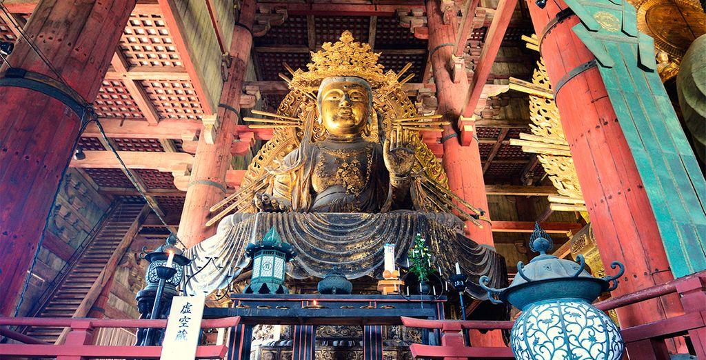 Famoso por contener en él una fantástica escultura de un Gran Buddha