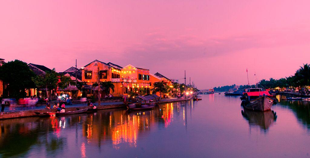 Impresionantes atardeceres en Hoi An
