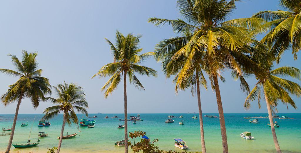 Disfrute del sol y de la playa a su placer