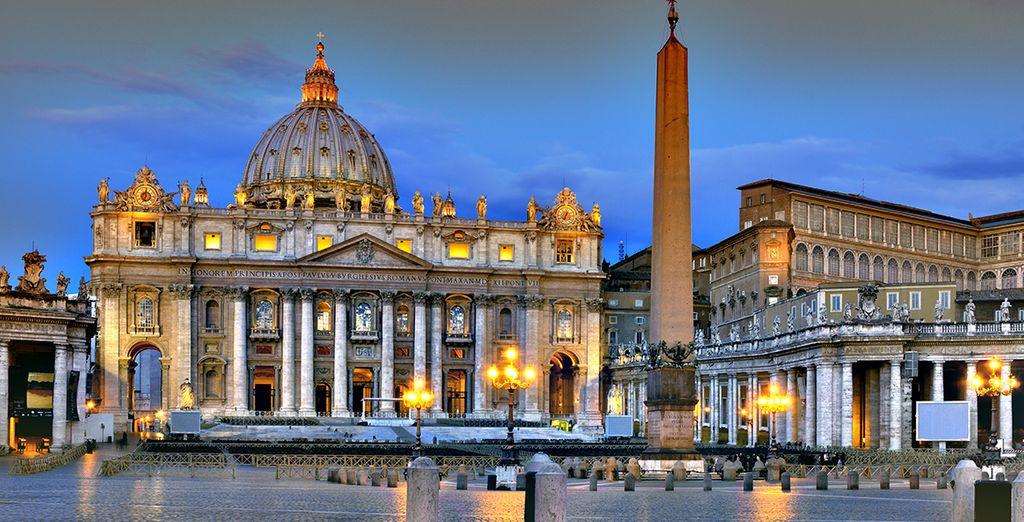 Aproveche la ocasión para visitar el Vaticano
