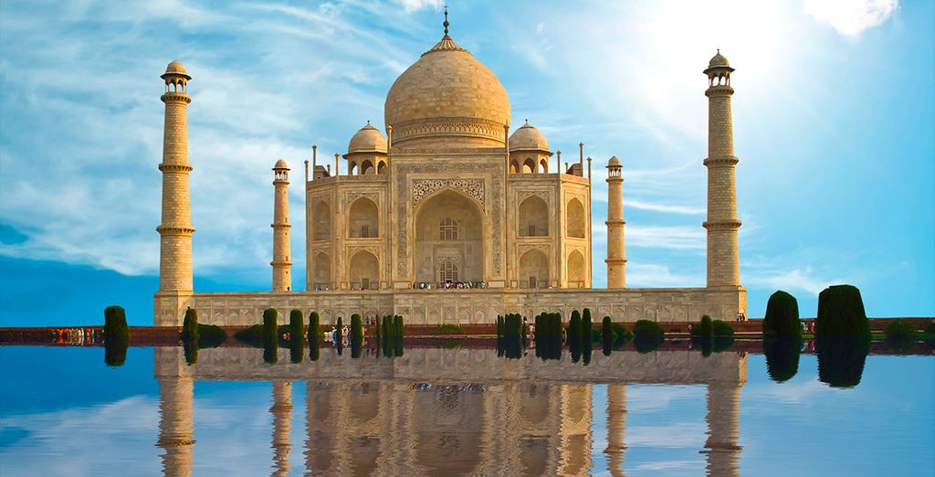 Taj Mahal, un lugar incredible en la India