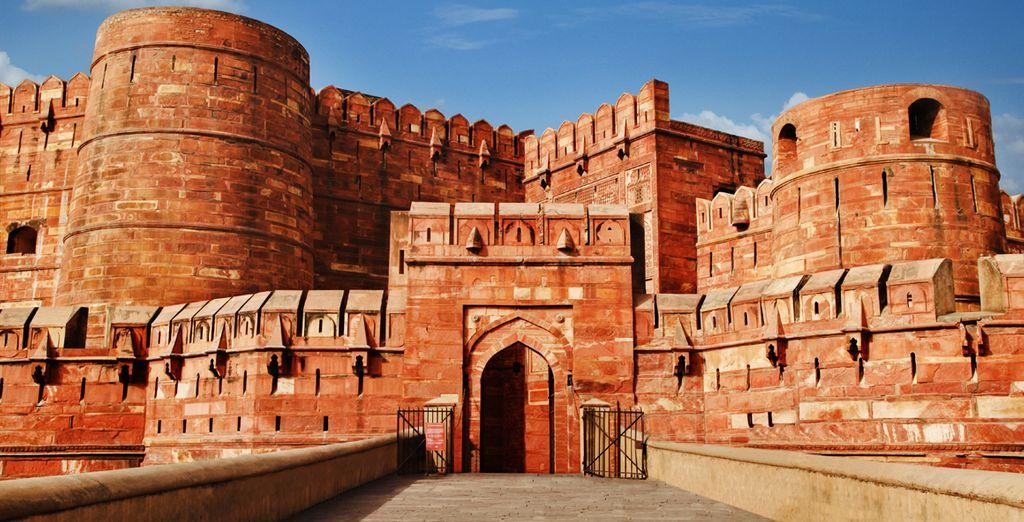 Visitará el Fuerte Rojo de Agra