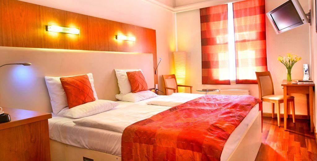Hotel Ametyst 4*, Praga