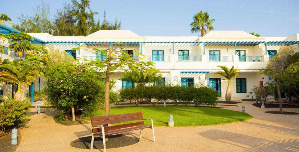 El hotel se ubica en una zona privilegiada