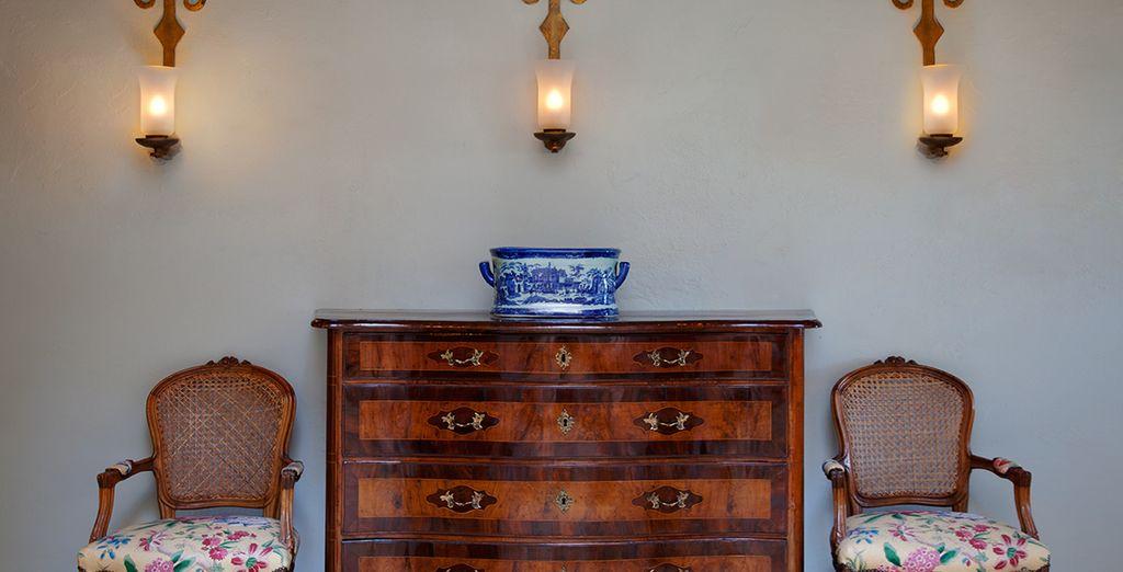 Un mobiliario antiguo y reformado