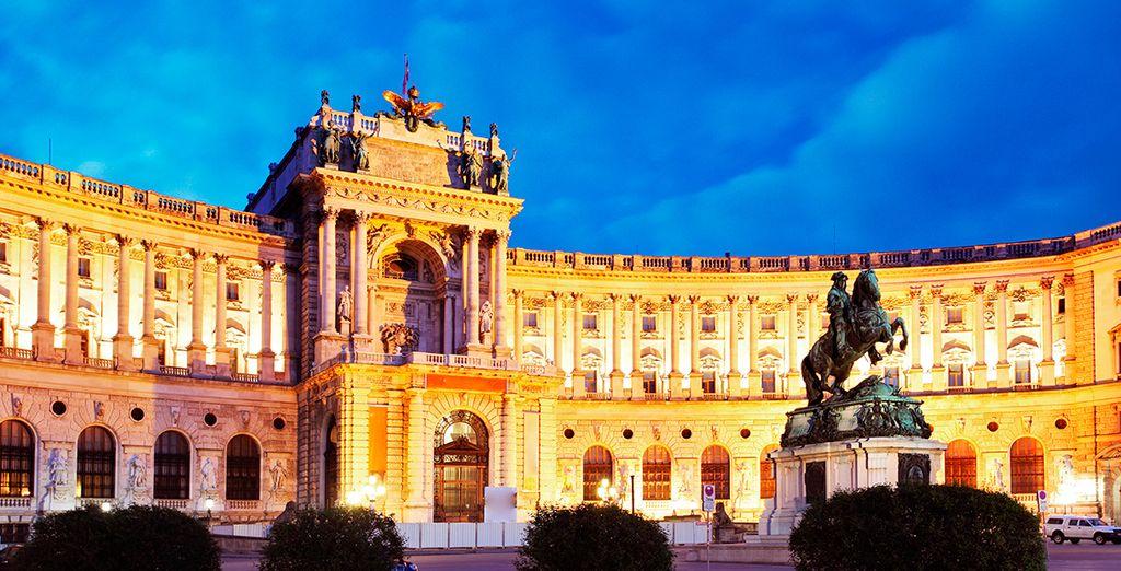 El edificio Hofsburg en Praga