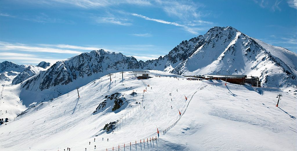 No pierda la oprtunidad de esquiar en Grandvalira