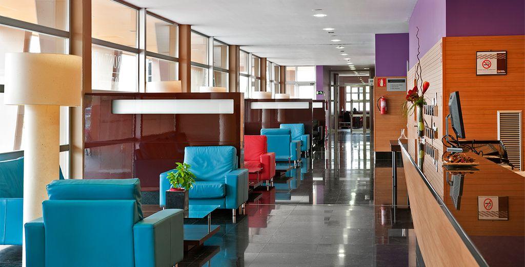 Dentro del Hotel hay una gran variedad de espacios dedicados al ocio