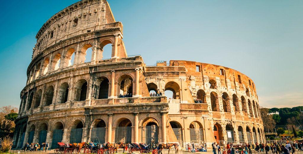 El Coliseo de Roma aun se mantiene en pie a pesar del pasar de los años