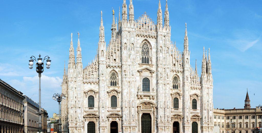 El Duomo de Milán, símbolo indiscutible de la ciudad