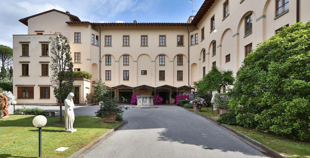 Su estancia en Florencia será en el Hotel Villa Gabriele D´Annunzio 4*