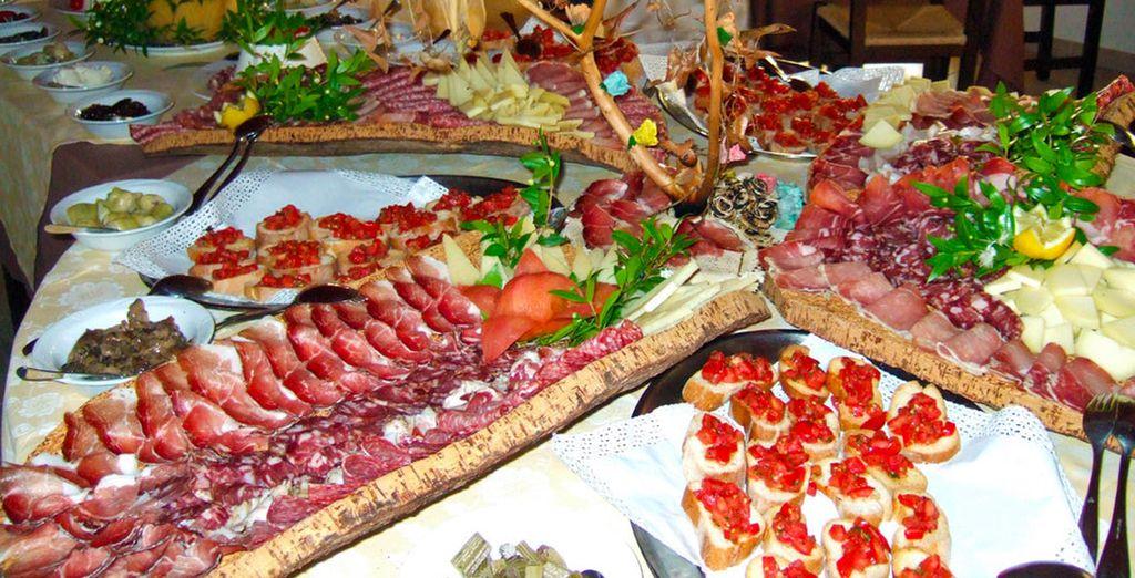 Coja energías con un auténtico desayuno italiano