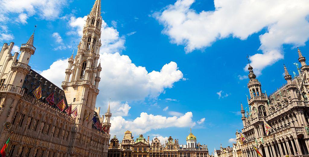 Bruselas, una ciudad de cuento de hadas