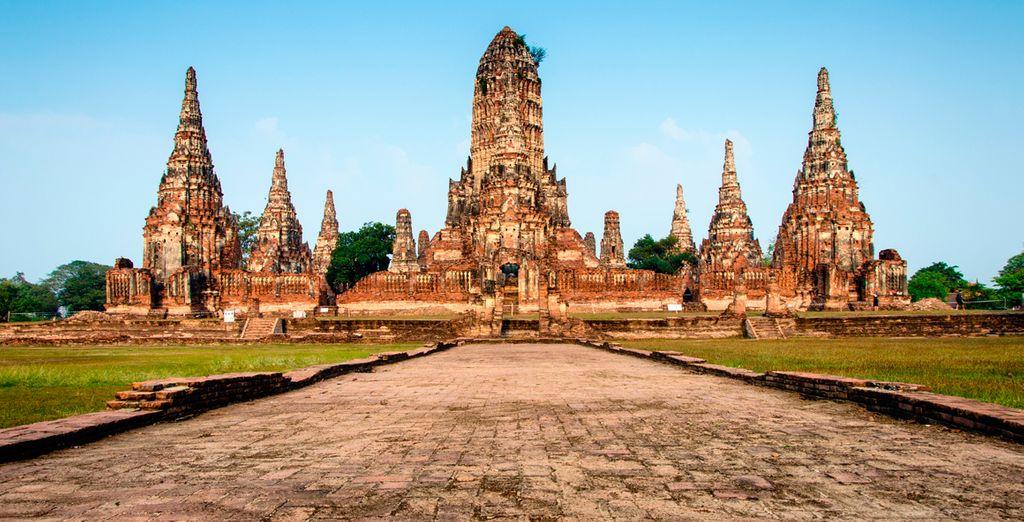 Ayutthaya, a camino entre China, Inida y Malasia, era un enclave perfecto para el comercio