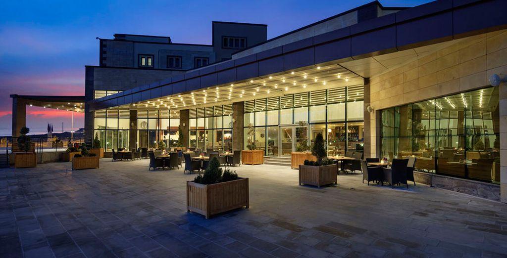 Un gran hotel para un gran viaje
