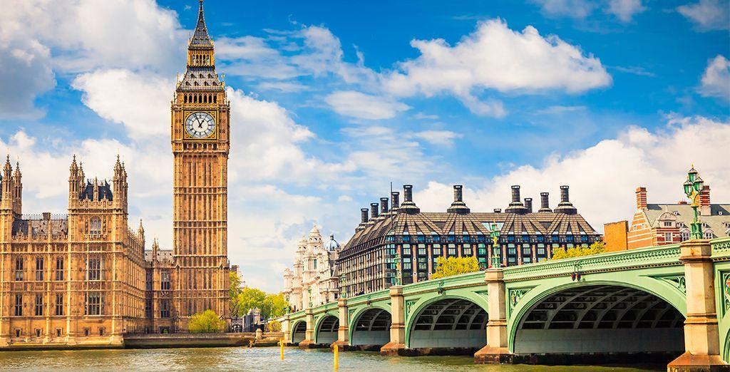 Enamorese de la fantástica ciudad de Londres