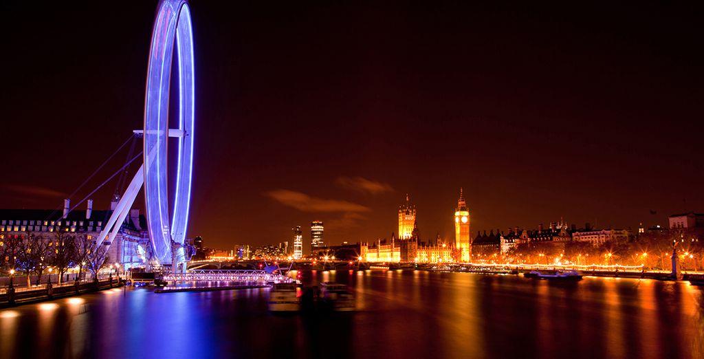 Disfrute de las mejores panorámicas desde el London Eye