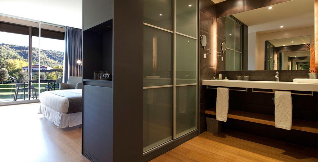 Baños modernos y equipados