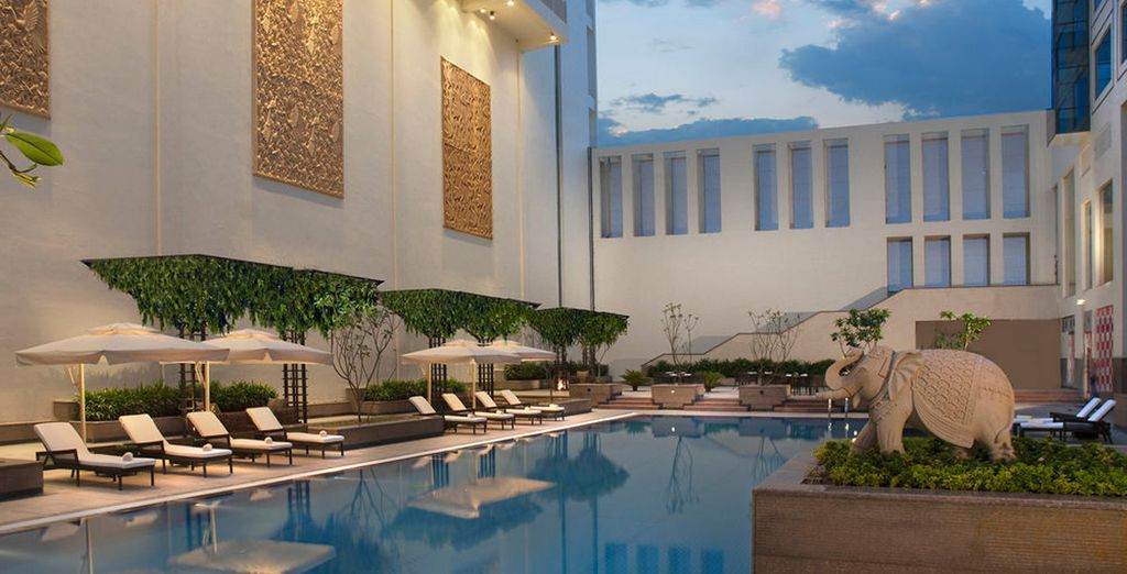 En Jaipur se alojará en el hotel Marriott 5*