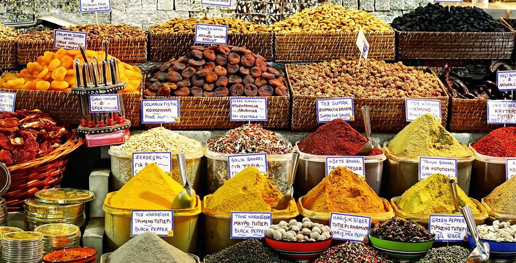 Especies de todo tipo se venden en los mercados