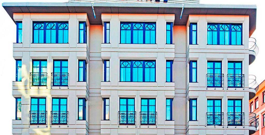 Una estancia céntrica en la ciudad de Estambul