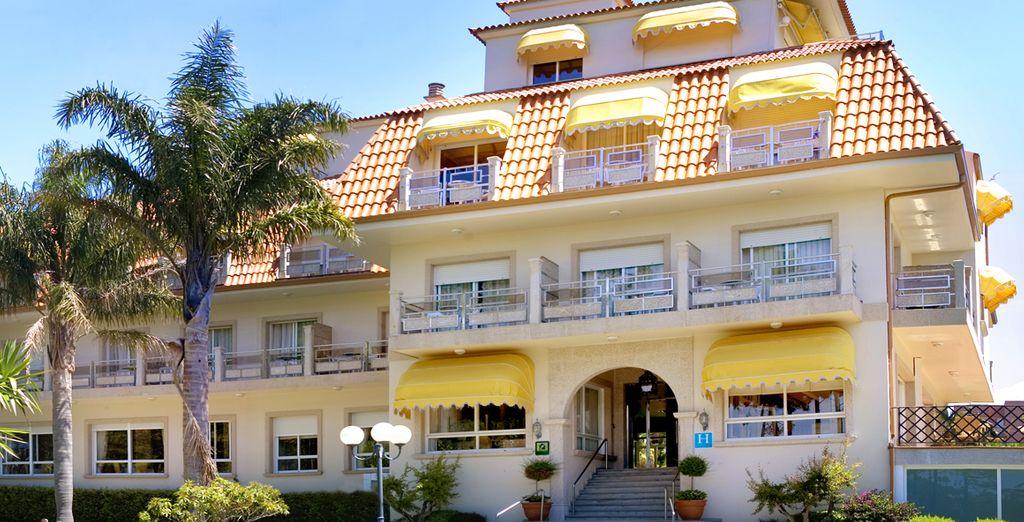 El Hotel Spa Atlántico es un establecimiento familiar y acogedor