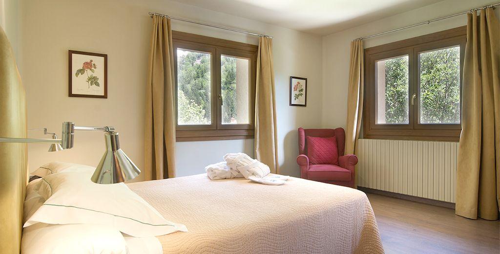 Amplias y confortables estancias...