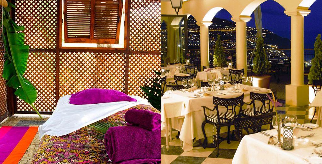 La sofisticada decoración del interior de las zonas comunes refleja el lujo y la elegancia
