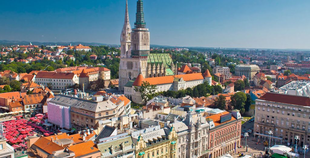 Llegada a Zagreb, la capital de Croacia y, sin duda, una de las grandes desconocidas de Europa