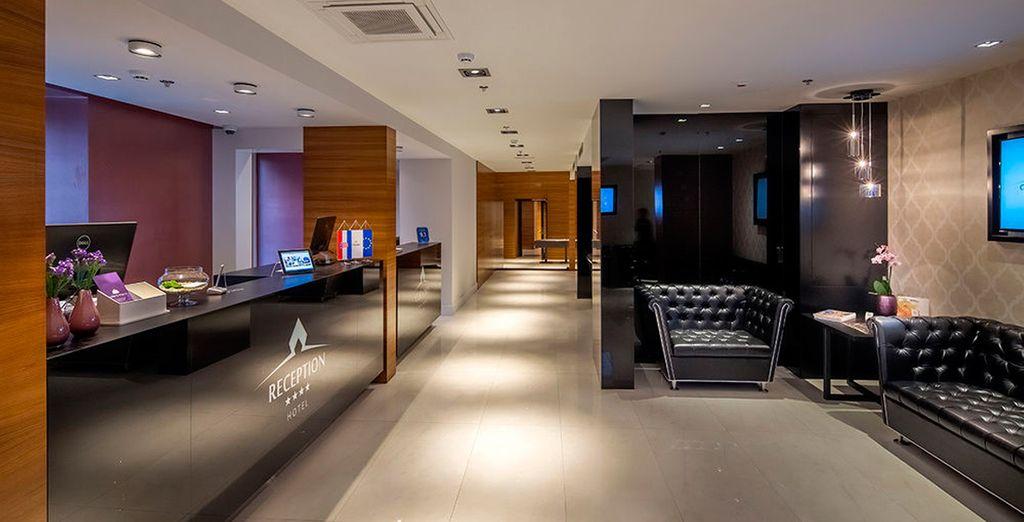Un hotel de 4 estrellas del centro de Split, concretamente de la zona de Casco antiguo de Split