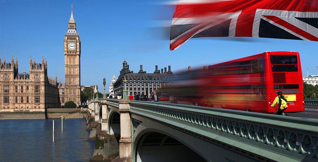 Disfrute de todo lo que le ofrece Londres