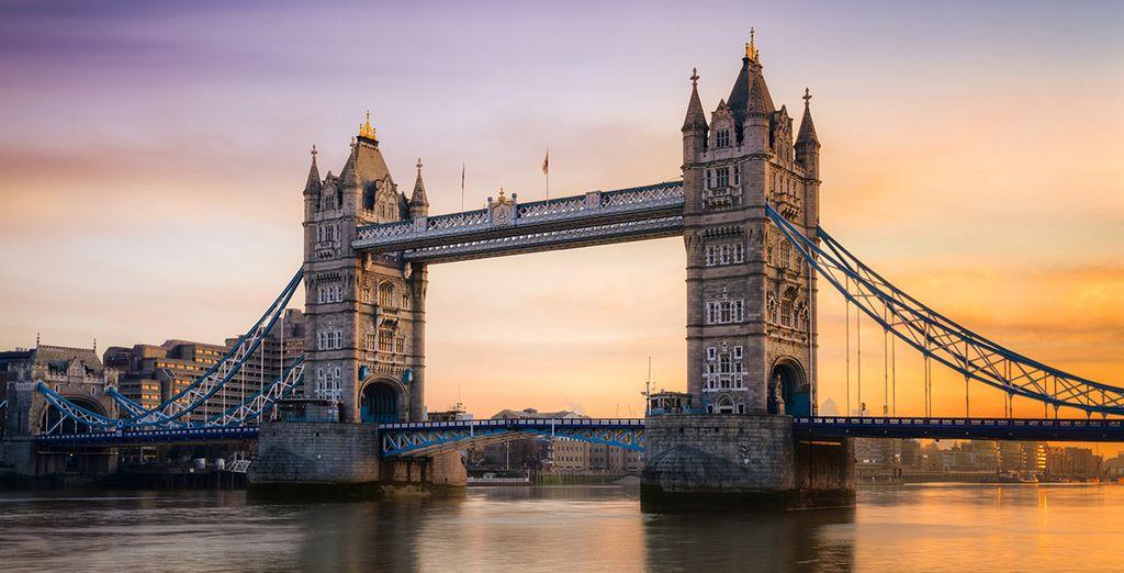 Empápese de la cultura de Londres