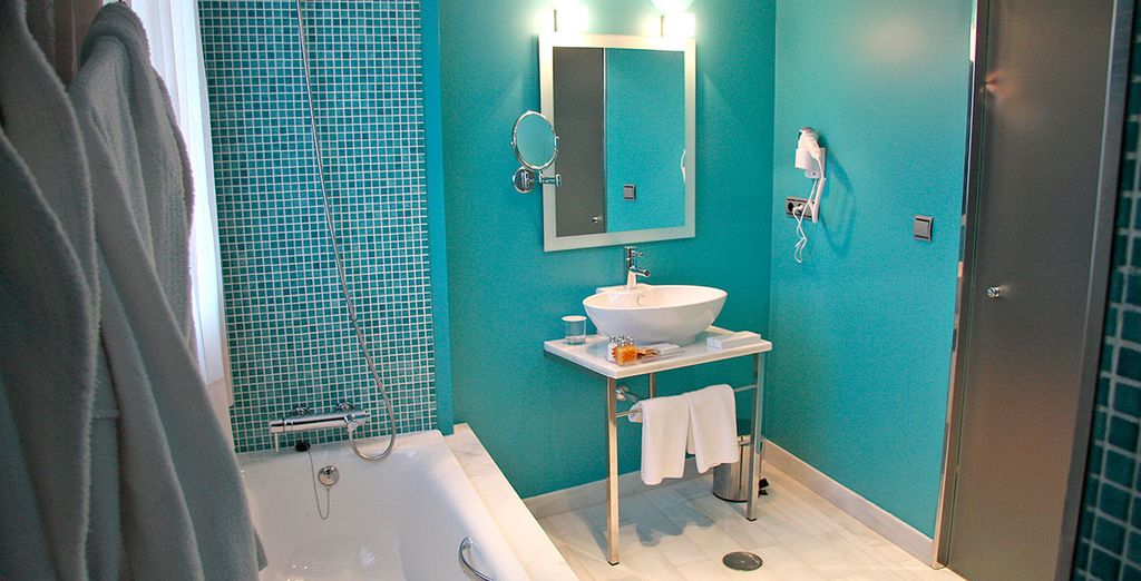 Con baño privado totalmente equipado