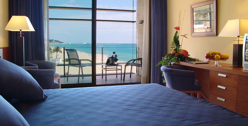 Una habitación para disfrutar del máximo confort