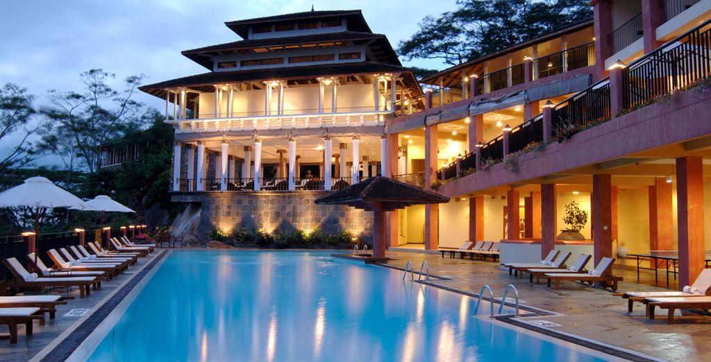 Durante su estancia en Kandy se alojará en Amaya Hills