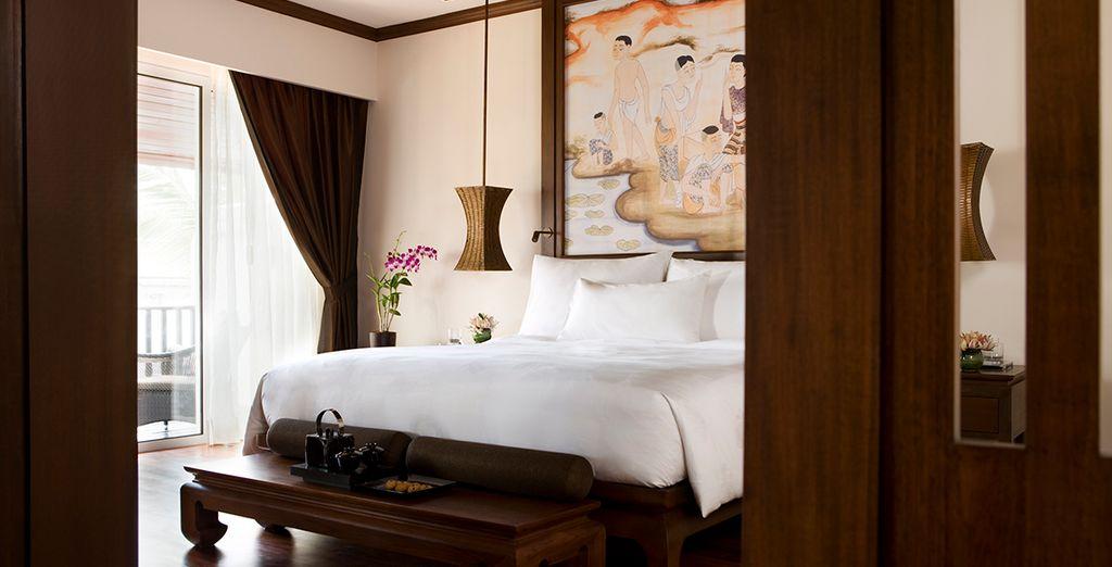 Descanse en su habitación Premier Laguna