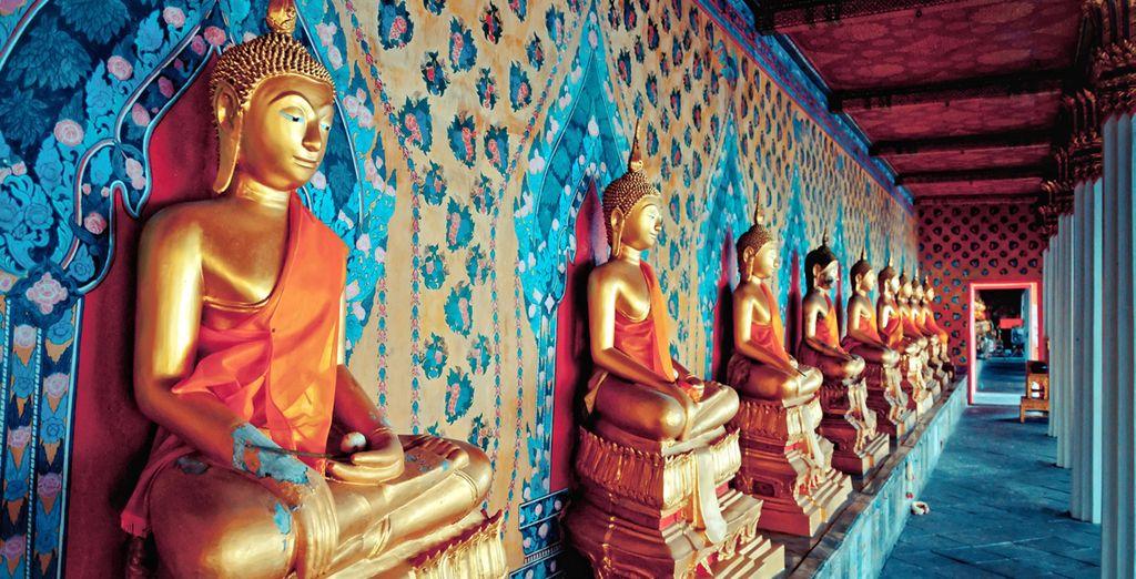 La espiritualidad forma parte del día a día en Tailandia