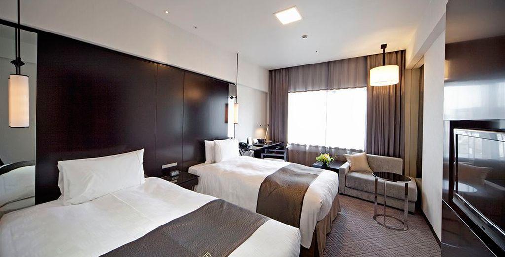 Habitaciones elegantes y sofisticadas