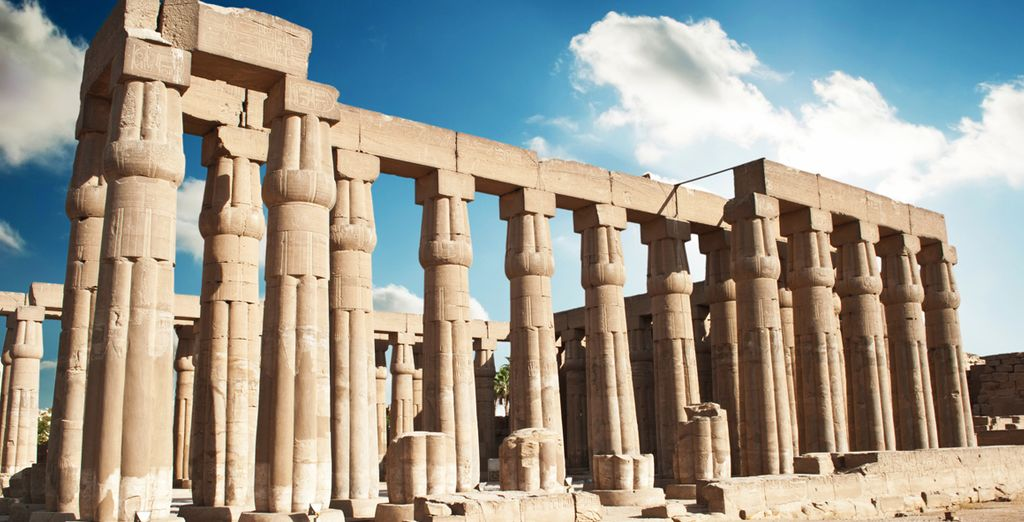 Maravíllese con el Templo de Luxor
