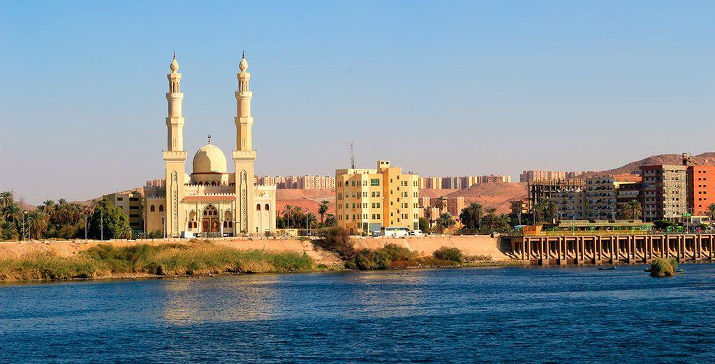 El tercer día llegarán a Aswan