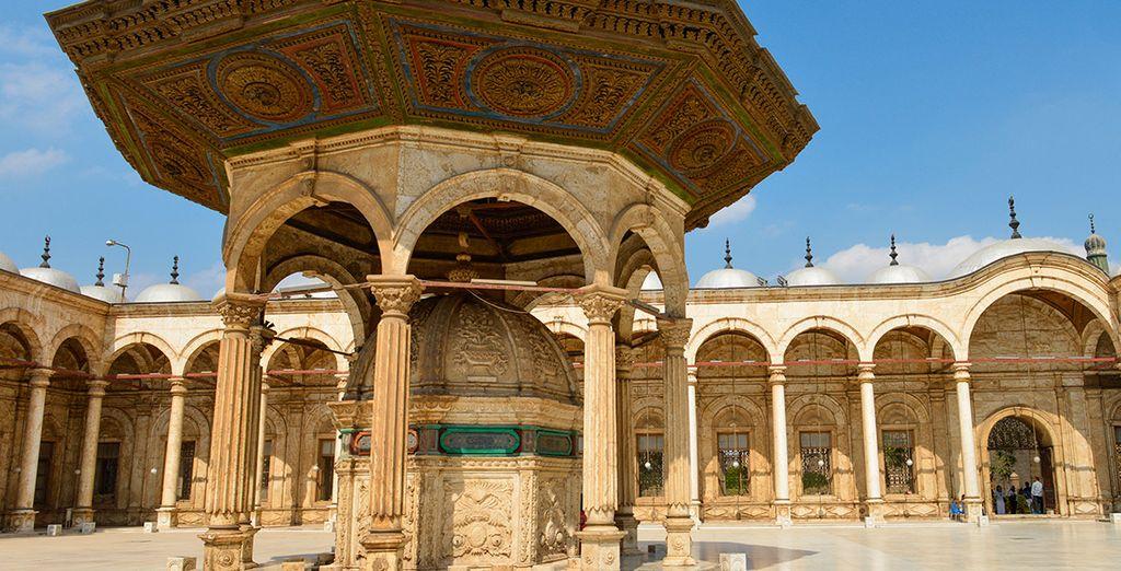 La mezquita de alabastro, una belleza arquitectónica