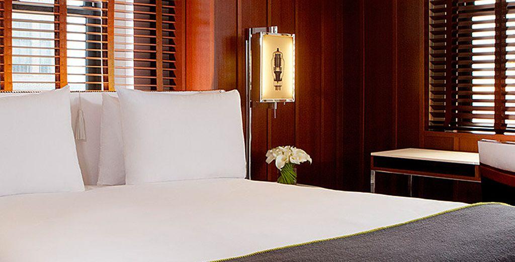 ... un espacio elegante y sofisticado...