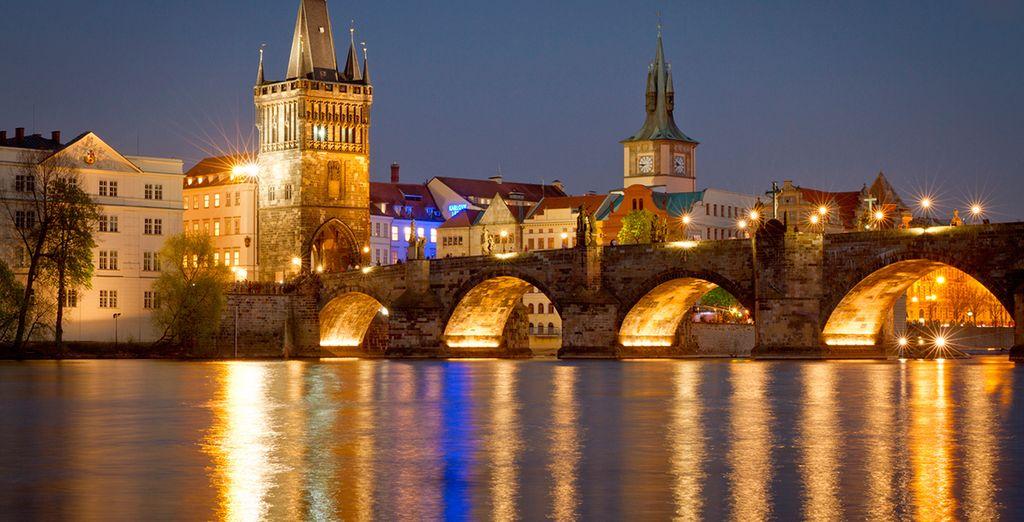 Piérdase por la ciudad de Praga, una ciudad de cuento de hadas